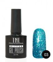 TNL гель-лак Glitter 03, 10 ml
