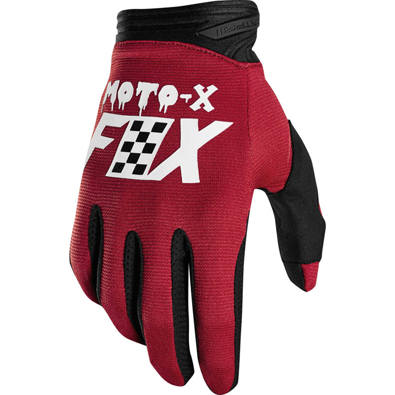 Fox - 2019 Dirtpaw Czar Cardinal перчатки, красные