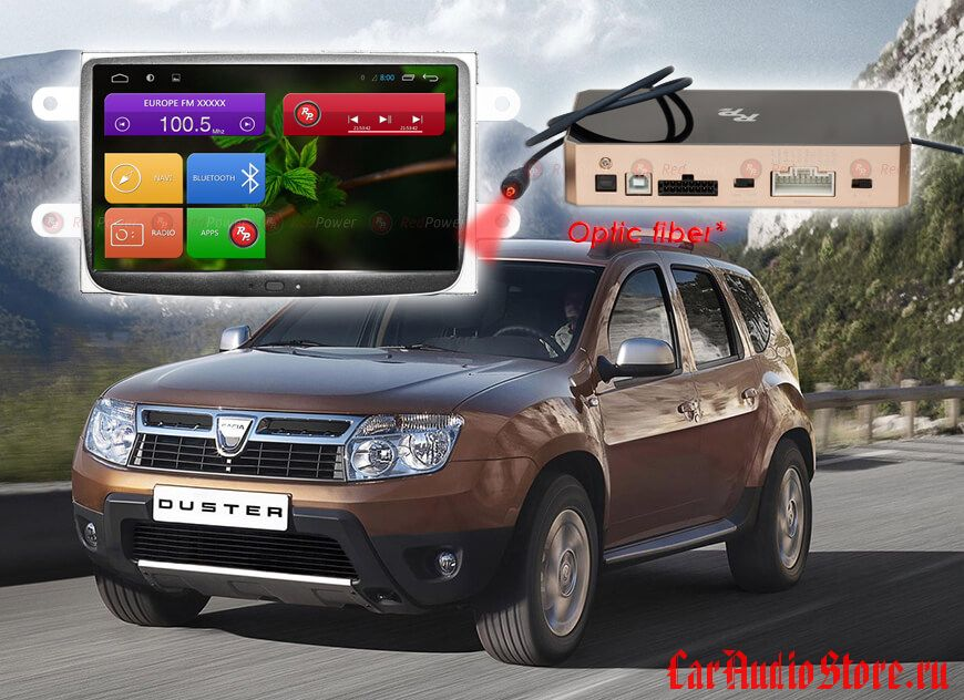 Renault, Lada Redpower 31157 IPS DSP ANDROID 7