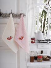 """Кухонные полотенца """"KARNA"""" FESTIVAL 45x65 - 2 шт. Арт.1089к-2"""