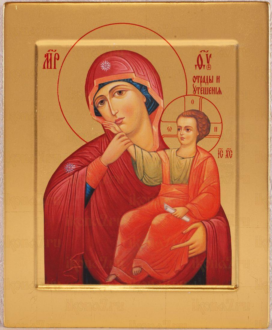 Отрада или утешение  икона Божией Матери