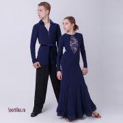 Платье для европейской программы бальных танцев