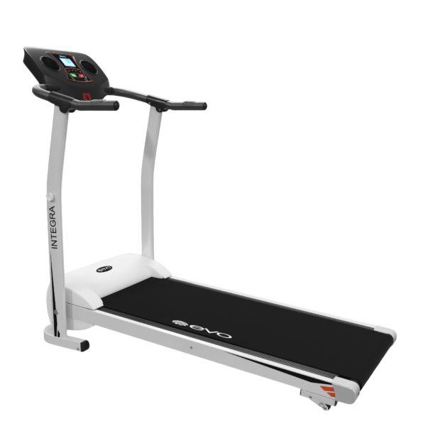 Электрическая беговая дорожка - Evo Fitness Integra, цвет черный