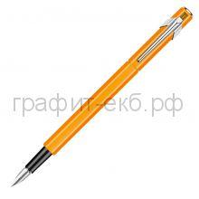 Ручка перьевая Caran d'Ache Office Fluo оранжевая EF 842.030