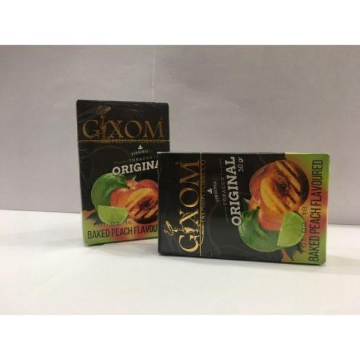 Табак для кальяна GIXOM BAKED PEACH 50g