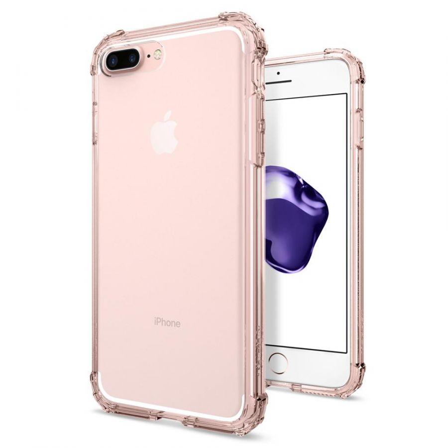 Чехол SGP Spigen Crystal Shell для iPhone 7 Plus кристально-розовый