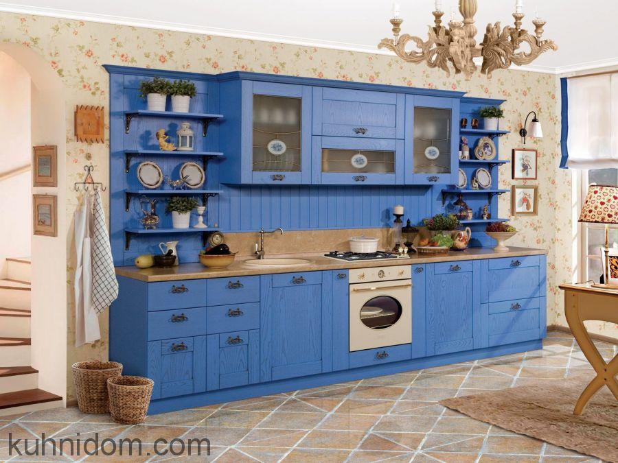 Кухня Бетти Голубая