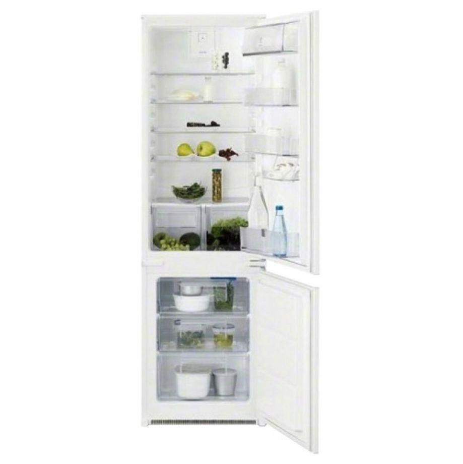 Встраиваемый двухкамерный холодильник Electrolux ENN 92811 BW