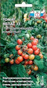 Семена томата Непас 11 (Непасынкующийся Комнатный)