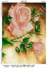 В-79 Фея Вышивки. Розы. А3 (набор 850 рублей)