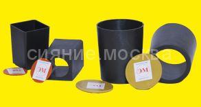ЭМ-стаканчик для рассады квадратный 80х 50/60