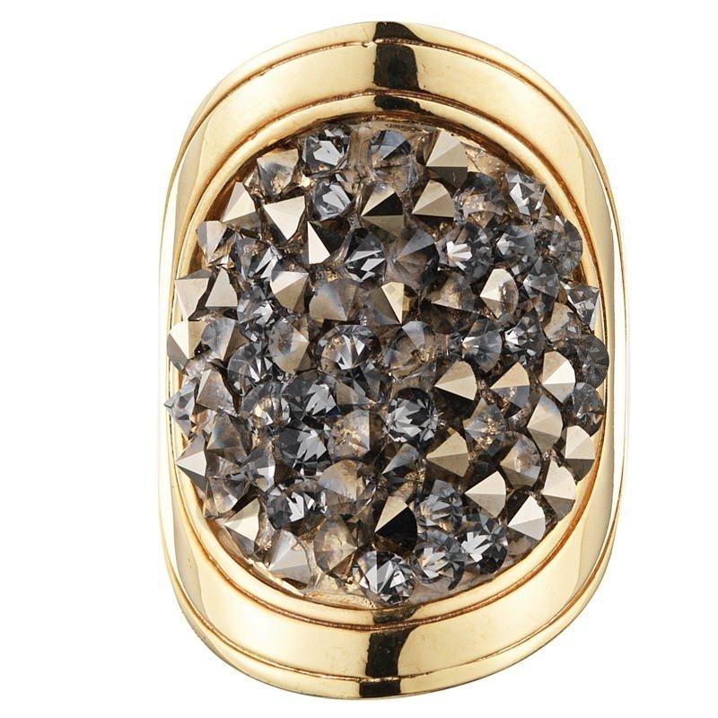 Кольцо Dyrberg Kern Odette 330704. Коллекция Cristal Rocks
