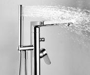 Напольный смеситель для ванны и душа WasserKRAFT Dinkel 5821