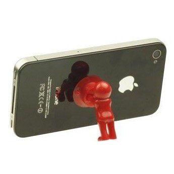 Настольный держатель мобильного телефона 3D-MANstand, цвет красный