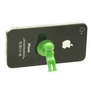 Настольный держатель мобильного телефона 3D-MANstand, цвет зеленый