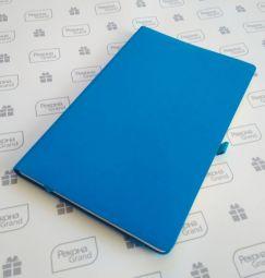 голубые бизнес-блокноты Gracy Soft-touch