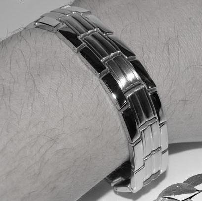 Магнитный браслет из титана NN-titanium