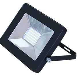 Ecola прожектор св/д 20W 4200 4K 146x102x17 черный IP65 JPBV20ELB