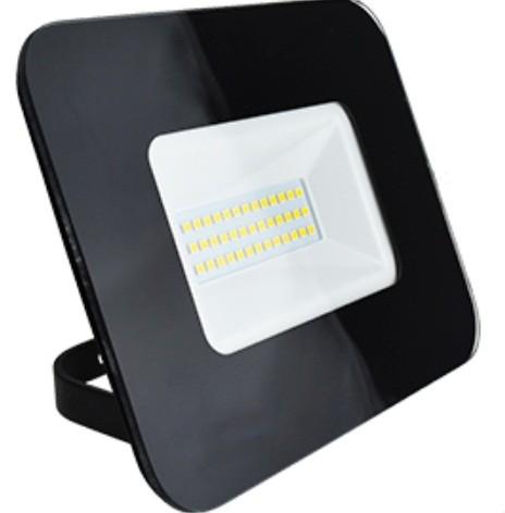Ecola прожектор св/д 30W 6000 6K 154x124x40 тонкий черный IP65 JPBD30ELB
