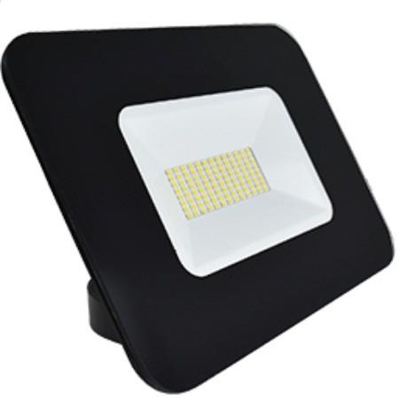 Ecola прожектор св/д 50W 6000 6K 234x174x47 тонкий черный IP65 JPBD50ELB