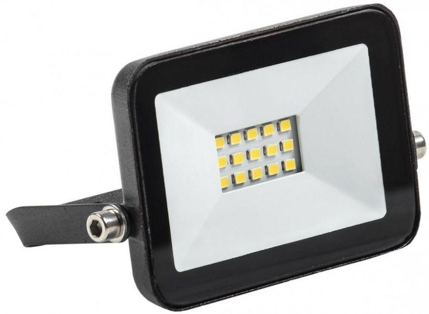 IEK прожектор св/д СДО 06-10 10W(900lm) 4000K 4K черный IP65 LPDO601-10-40-K02