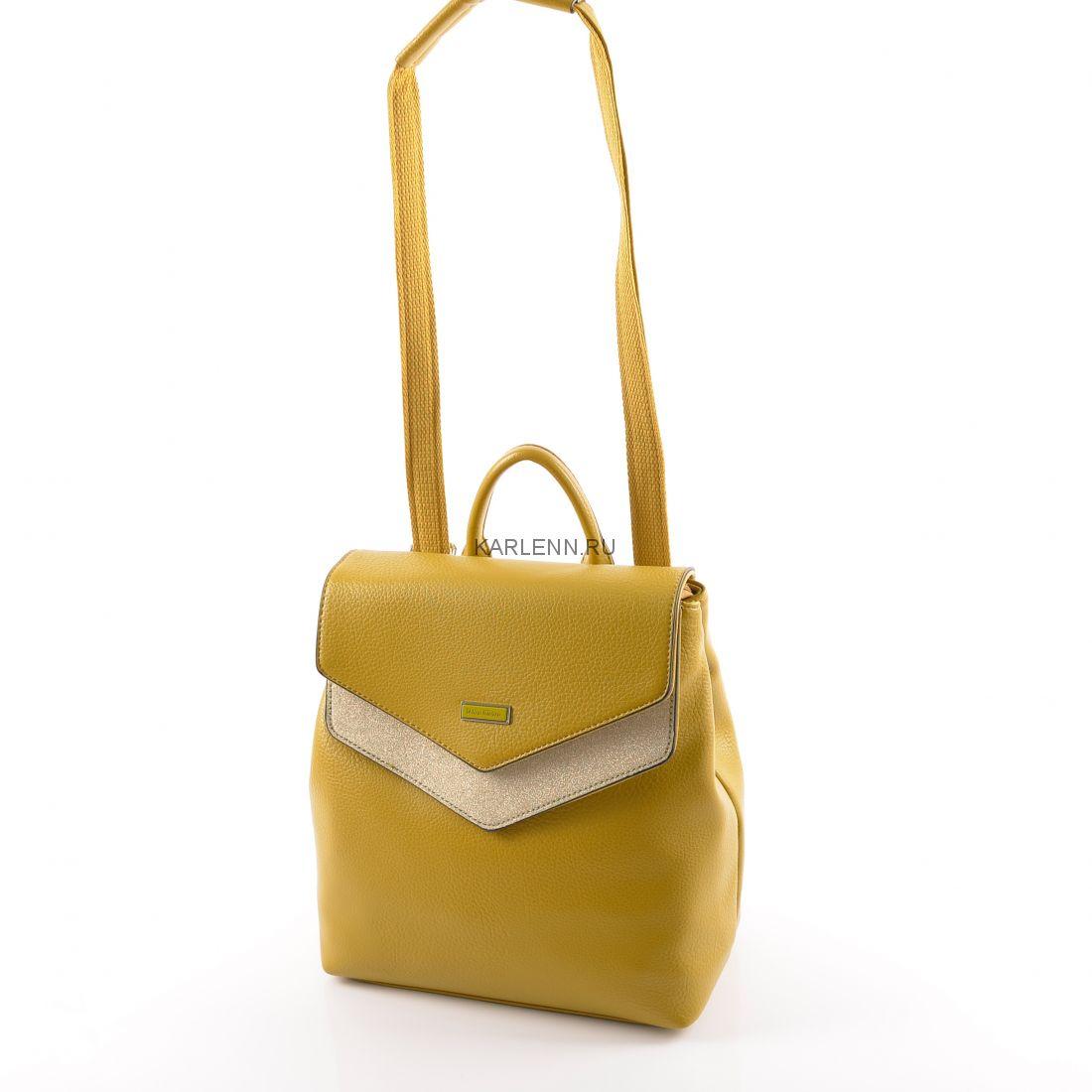 Рюкзак женский Velina Fabbiano (шафрановый)