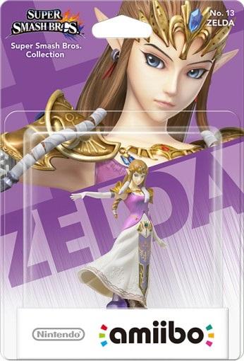 Amiibo: Интерактивная фигурка Зельда (Коллекция Super Smash Bros)