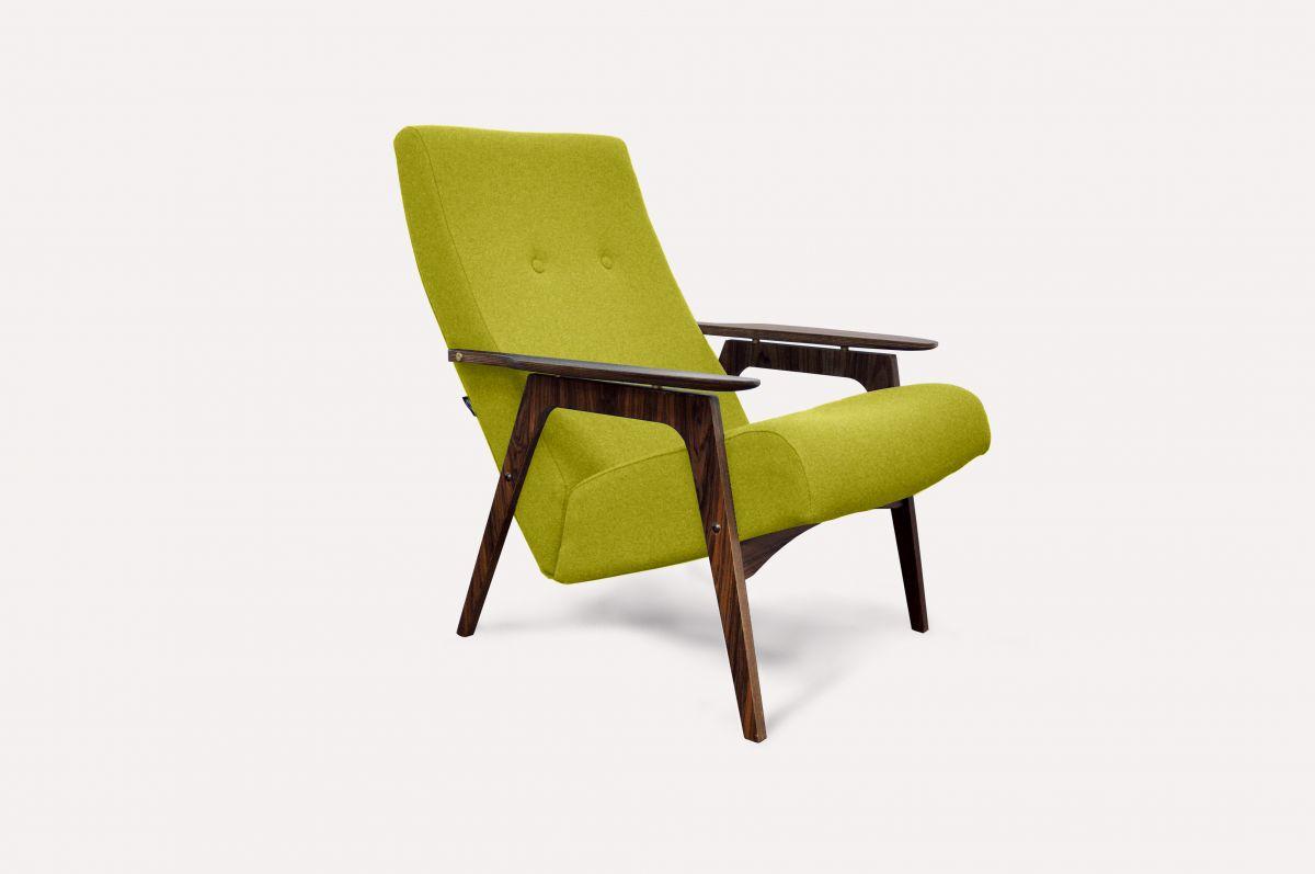 Кресло Каллисто (шерсть) модерн середины 20 века (Sputnikfurniture)