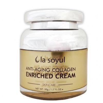 La Soyul Anti-Aging Collagen Enriched Антивозрастной крем обогащенный коллагеном 50 мл