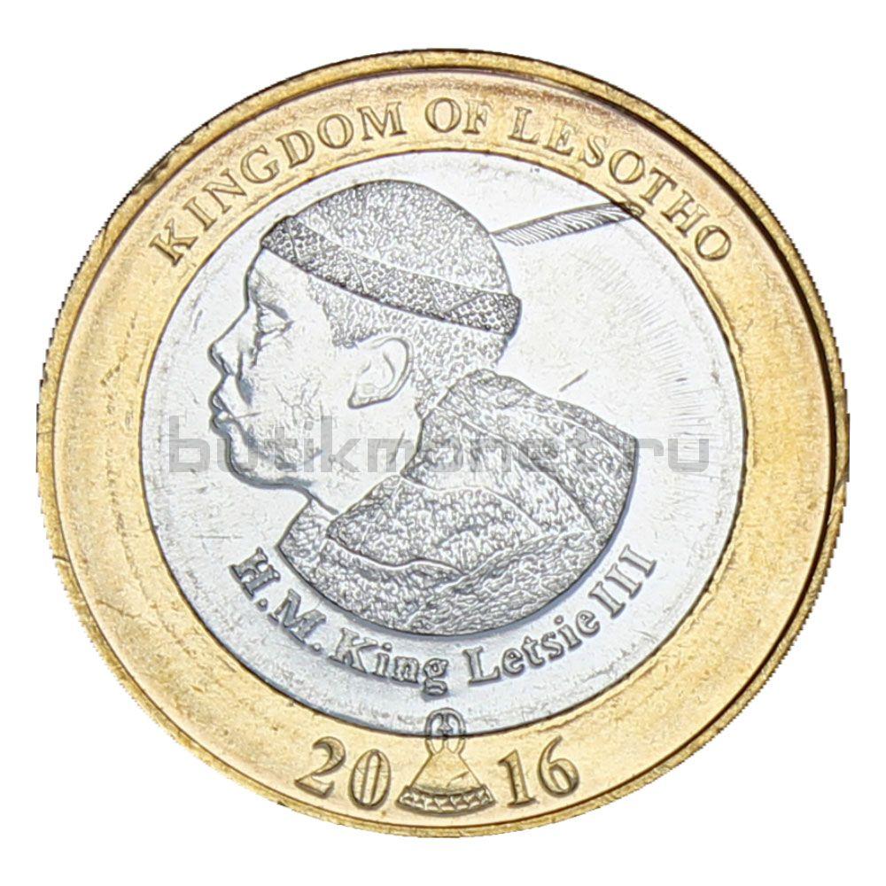 5 малоти 2016 Лесото 50 лет Независимости