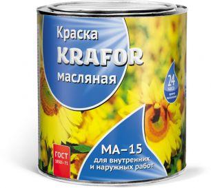 "КРАСКА МА-15 СУРИК  1 КГ (14) ""KRAFOR"""