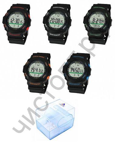 Часы наручные iTaiTek IT-348 подсветка ,таймер , будильник защита от дождя