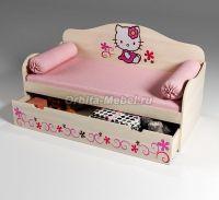 Кровать для девочек Китик, арт. 40002 (70х160)