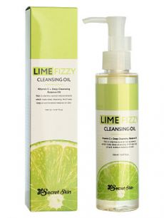 LIME FIZZY CLEANSING OIL Масло гидрофильное 150 мл