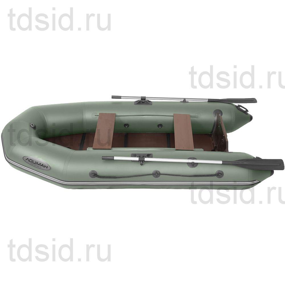 Лодка моторно -гребная ПВХ Лоцман М-290 (киль+ЖС)