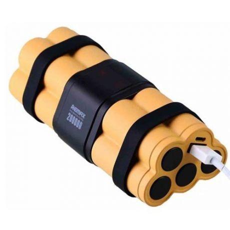 Внешний аккумулятор (АКБ) REMAX Timebomb Series Powerbank 20000 mAh RPL-39 Li-On (черный)