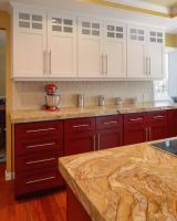 Кухня Бетти Красно-Белая