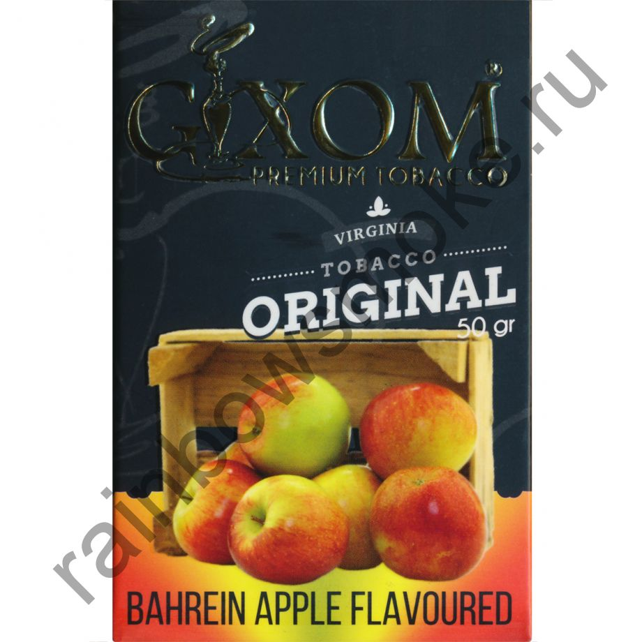 Gixom Original series 50 гр - Bahrein Apple (Яблоко Бахрейна)