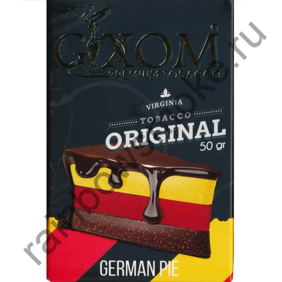 Gixom Original series 50 гр - German Pie (Немецкий Пирог)