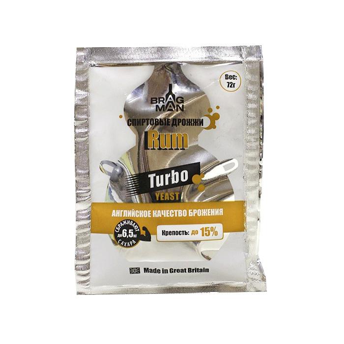 Дрожжи спиртовые Rum Turbo 73 гр, (50 шт/кор)