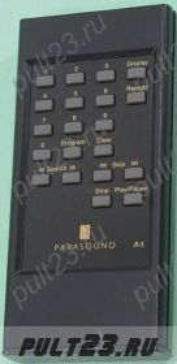 PARASOUND R3, C/BD-2000