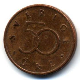 Швеция 50 эре 2001 В