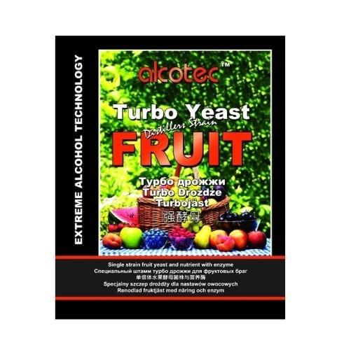 Дрожжи Alcotec Fruit Turbo 60 гр, (50 шт/кор)
