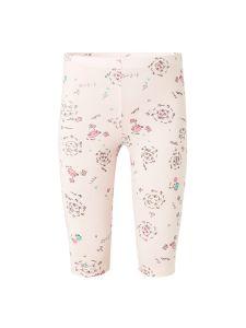 972.064.602 Леггинсы для девочки нежно-розовые с рисунком кошек Goldy