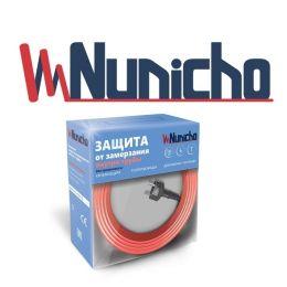 Готовый комплект кабеля NUNICHO Micro  внутрь трубы 10 Вт/м - 12 метров с вилкой и сальниковым узлом 1/2 и 3/4
