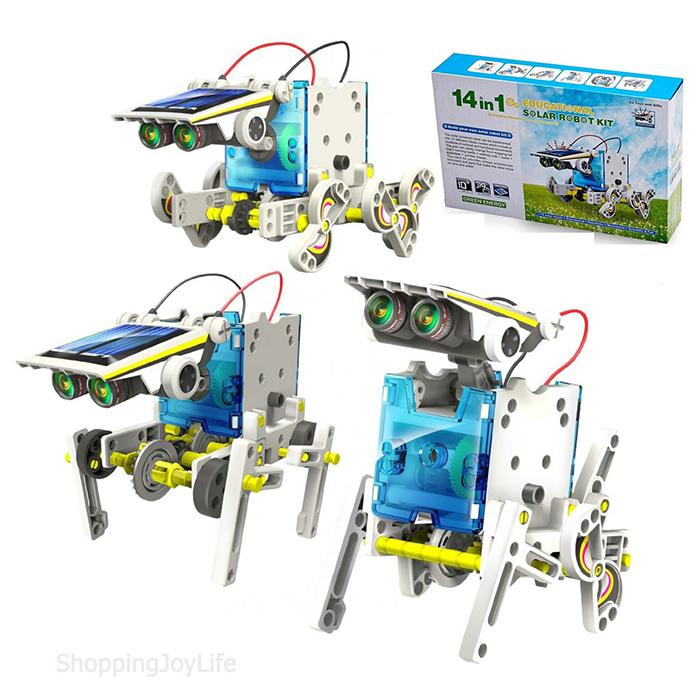 Робот-конструктор на солнечных батареях Solar 14 в 1
