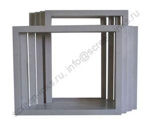 Рама алюминиевая 360 х 460 мм (внутр. размер 300х400 мм, профиль 20х30х1,0 мм)