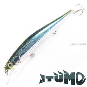 Воблер Itumo Ne-On 110F 110 мм / 12,8 гр / Заглубление: 0,8 - 1 м / цвет: 24