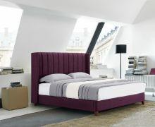 Кровать RACHEL SK22 160*200 сиреневый (601-17) с/осн