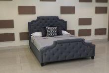 Кровать MARELLA B595 180*200 темно-серый с/осн